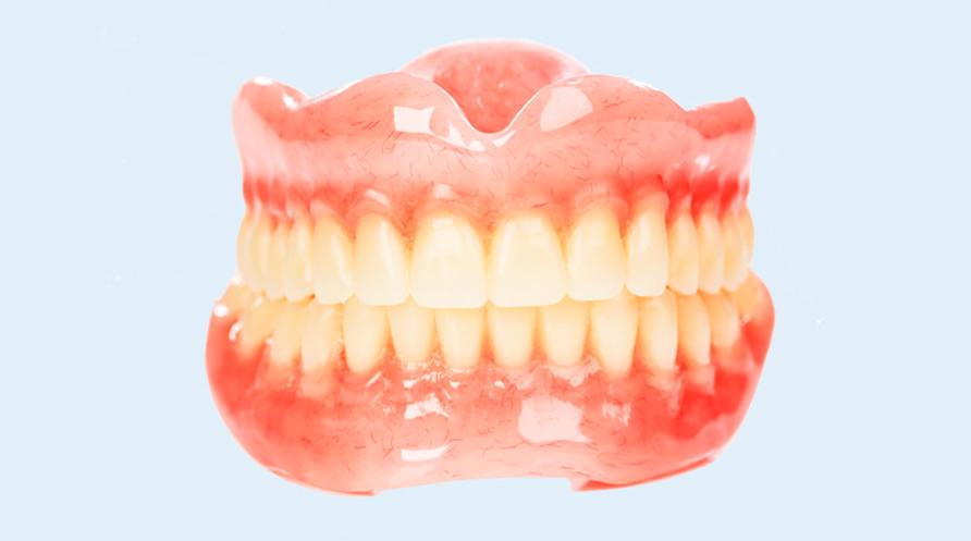 акриловый протез челюсти